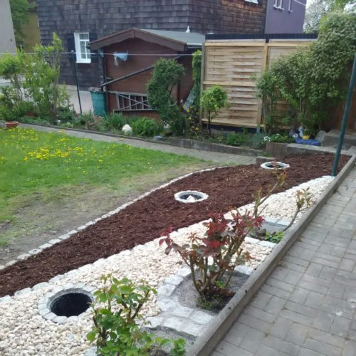 Gartengestaltung Weimar nachher